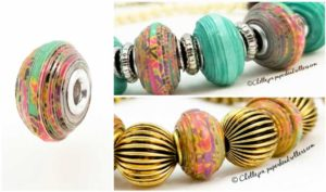 Euro Style Paper Bead