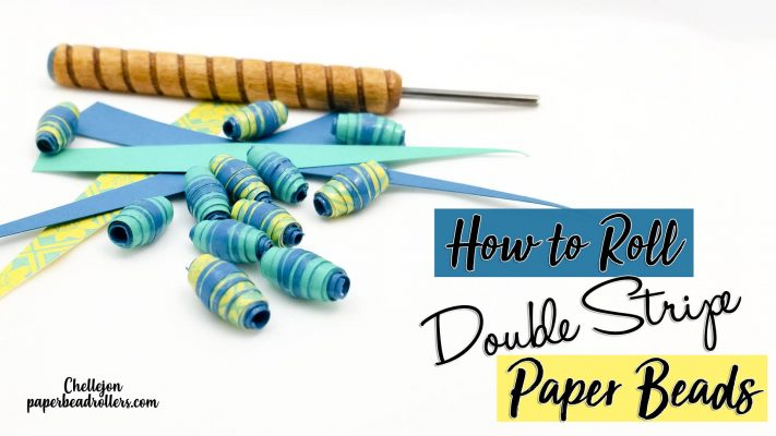 Double Stripe Paper Bead Cutting Files