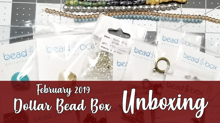 Dollar Bead Box February 2019 Unboxing