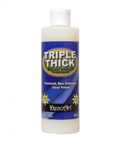DecoArt Triple Thick Brilliant Brush-On Gloss Glaze