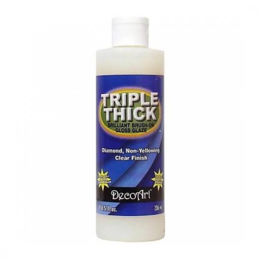 DecoArt Triple Thick Brilliant Brush-On Gloss Glaze