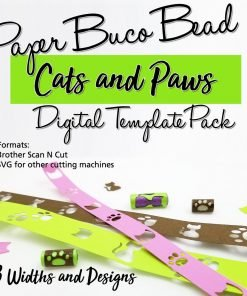 Cats & Paws Digital Template Pack