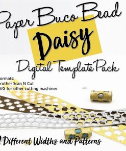 Daisy Buco Bead Digital Template Pack