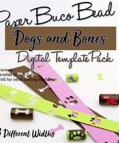 Dogs & Bones Buco Bead Digital Template Pack