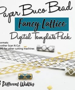 Fancy Lattice Buco Bead Digital Template Pack