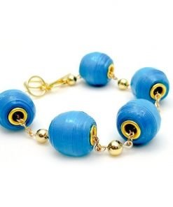 The Element Eurobead Paper Bead Bracelet