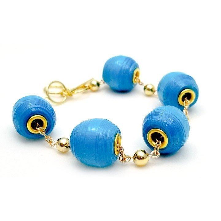 The Element Eurobead Paper Bead Bracelet