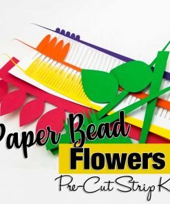 Paper Bead Flowers Paper Bead Making Kit