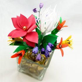 Paper Bead Flowers Digital Template Pack