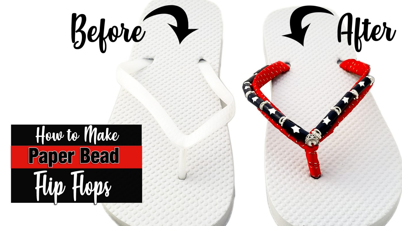 Beaded Flip Flop Tutorial