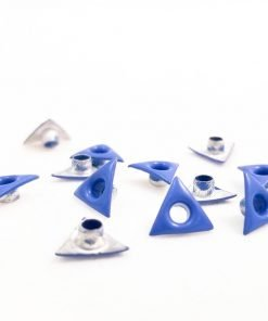 Triangle Shaped Blue Bead Cores 1/8″