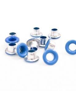 Round Bright Blue Bead Cores 1/8″