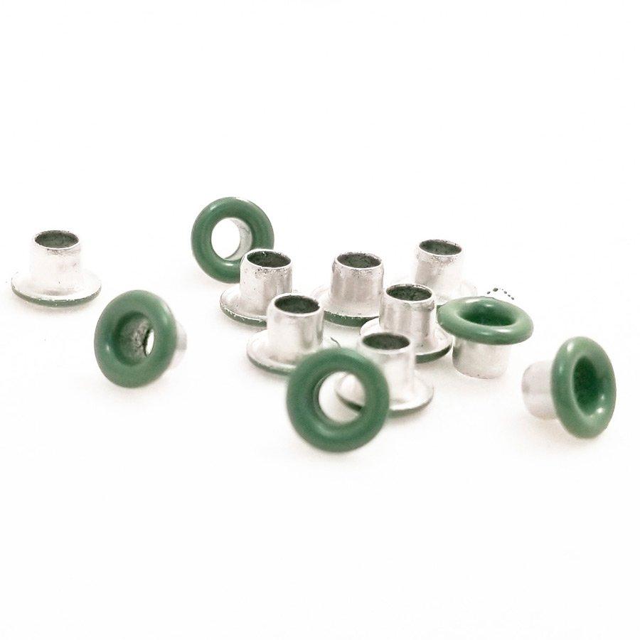 Round Camo Green Bead Cores 1/8″