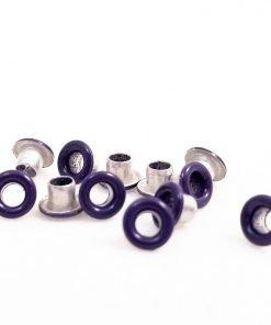 Round Dark Purple Bead Cores 1/8″
