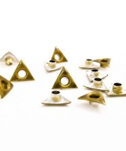 Gold Triangle Bead Cores