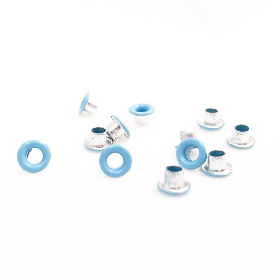 Round Light Blue Bead Cores 1/8″