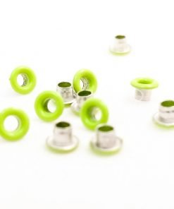 Round Lime Green Bead Cores 1/8″