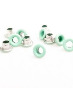 Round Mint Green Bead Cores 1/8″