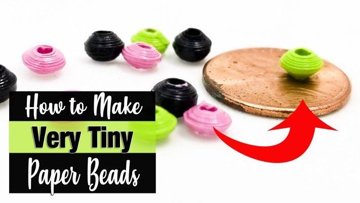 Micro Paper Beads