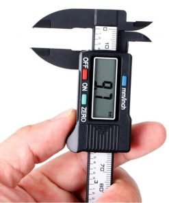 Digital Caliper for Measuring Paper Beads