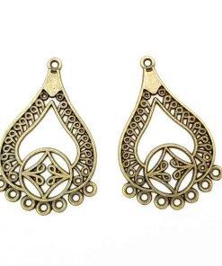 Tibetan Chandelier Earrings