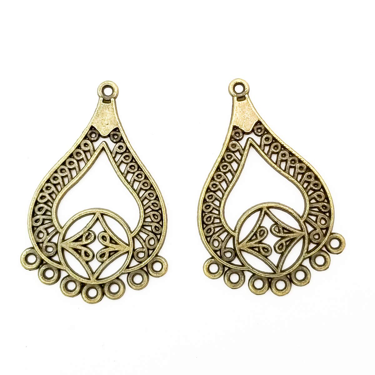 Tibetan Chandelier Earrings