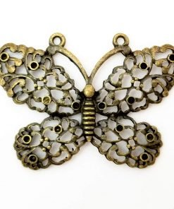 Tibetan Butterfly Charms Antique Bronze