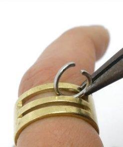 Jump Ring Opener Finger Tool