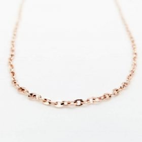 Cable Chain Rose Gold 3x2x0.5mm