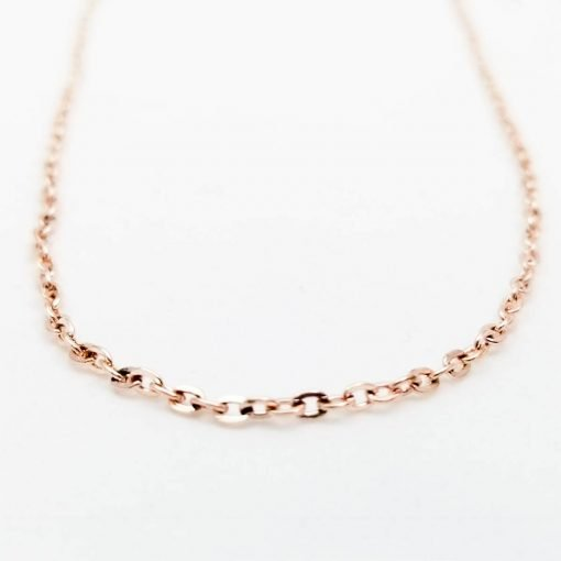 Rose Gold Chain for Jewelry Making
