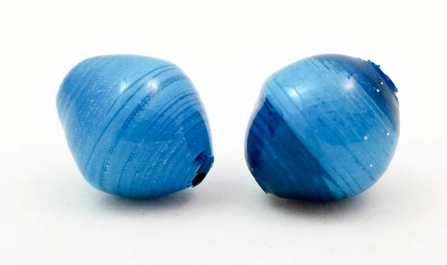 How to Glaze Paper Beads with UV Resin