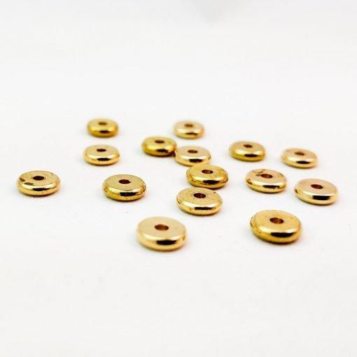 Gold Spacer Discs