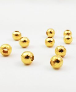 Round Metal Beads Spacers