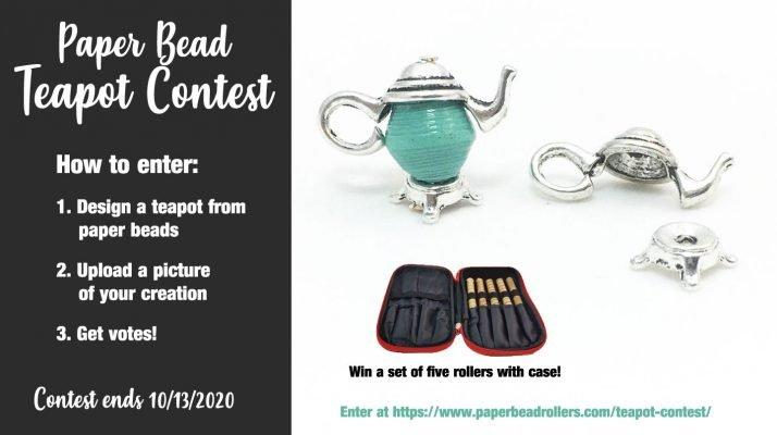 Paper Bead Teapot Contest