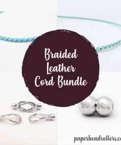 Braided Leather Cord Bundle