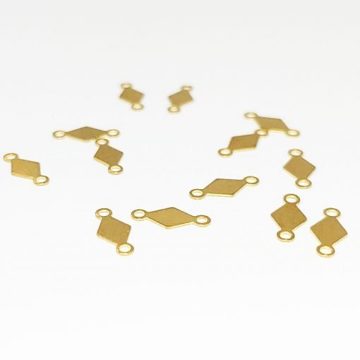 Rhombus Connector Charms