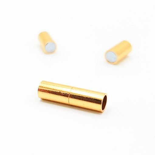 Gold Magnetic Tube Clasps