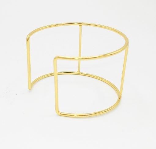 Gold Cuff Bracelet Frame