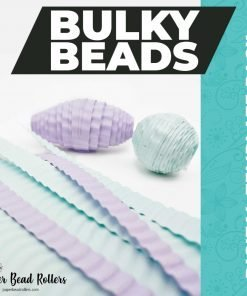 Bulky Beads Paper Beads Digital Download Templates